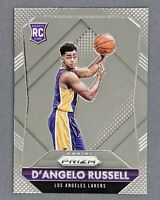 2015 Panini Prizm #322 D'Angelo Russell Rookie Los Angeles Lakers