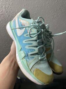 ⚡️Nike Zoom Vapor SZ 8 Women's Blue Tour Tennis Shoes 631475-414 Athletic Sport