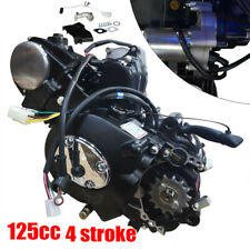 125cc 4 stroke ATV Engine Motor Semi Auto w/Reverse Electric Start