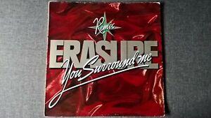 ERASURE - YOU SURROUND ME-REMIX .     12'' Vinyl SP.