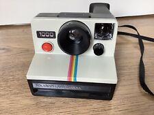 Polaroid SX-70 White Rainbow Stripe Instant Land Camera Tested