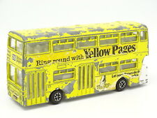 Dinky toys GB SB 1/55 - Atlantean Bus Yellow Pages
