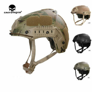 Emerson Airsoft Military Tactical 2 in 1 CP Style Helmet Outdoor Hunting CS Gear