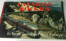 More details for 10 canadian rockies postcards booklet complete unposted 1960's pull out cards