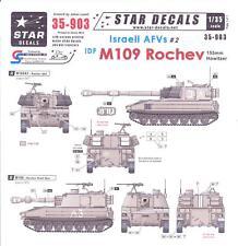 Star Decals 1/35 ISRAELI AFVs Part 2 M109 ROCHEV 155mm Howitzer