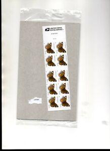 us scott # 4001b 24c xf mnhog bklt of (10) stamps plate #v1111  common buckeye 2