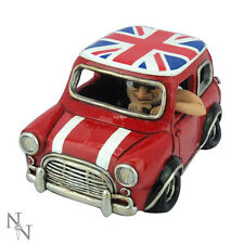 Union Jack Flag Mini Morris Cooper Car - Warren Stratford Ornament NEW
