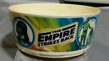 vtg Deka STAR WARS Plastic BOWL Empire Strikes Back 80's
