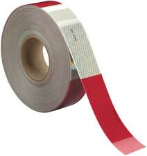 3M 983-326 ES Conspicuity,Cut,2 In,Red/White,Truck