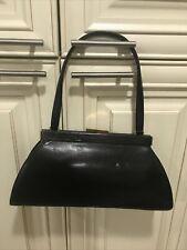 Monsac Vintage  Leather Handbag-Mad