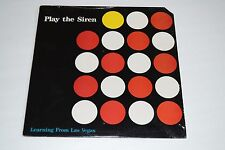 Play the Siren~Learning From Las Vegas~Target Trax~Philip Culp~FAST SHIPPING