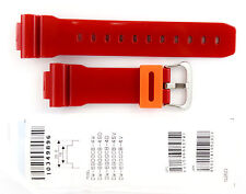 CASIO WATCH BAND:  10349896   BAND FOR DW-6900  RED RESIN