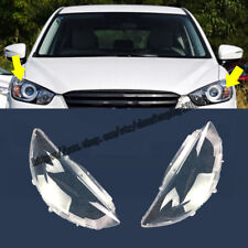 For Mazda CX-5 2013 2014 2015 Headlight Lens Headlamp Cover Left Right 2pcs