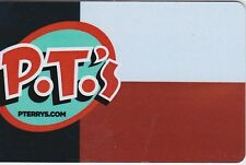 PTerrys PTerry's P.T.'s Burger Stand Restaurant Austin Texas TX Gift Card