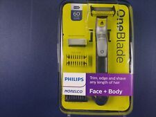 PHILLIPS NORELCO ONE BLADE FACE + BODY TRIMMER SHAVER QP2630/70