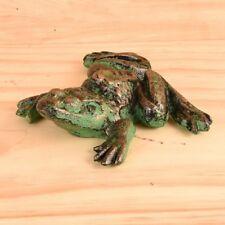 Cast-Iron Large Frog Statue Garden Decor or Indoor Door Stop