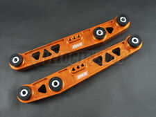 Blackworks Rear Lower Control Arms Orange 88-95 CRX Civic 90-01 Integra