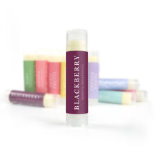 Blackberry Lip Balm - Fruit Flavor Natural Handmade Softening Moisturizing