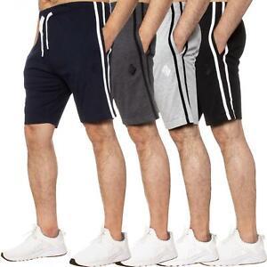 Enzo Mens Shorts Lounge Pyjama Bottoms Sleep Wear Gym Jersey Night PJ Half Pants