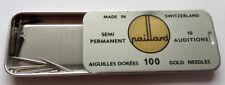 PAILLARD - rare needle tin Phonograph Grammophon Nadeldosen - SWISS