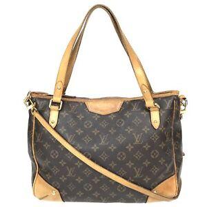 100% Authentic Louis Vuitton Monogram Estrola MM M41232 [Used] {08-0342}