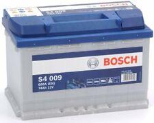 0092S40090 Batería Auto Bosch Silver S4 009 74 AH Ampere 680A 12V Listo para usa