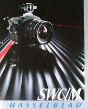 HASSELBLAD SWC/M CAMERA BROCHURE -from 1985-HASSELBLAD SWC M