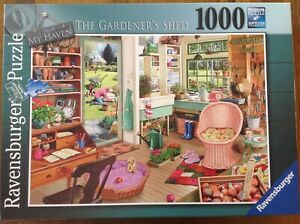 The Gardener's Shed by Ravensburger 1000 piece