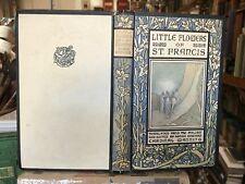 1918 Little Flowers of St. Francis - Saint Francis of Assisi - Art Nouveau Cover