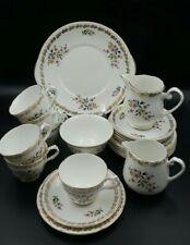 More details for royal grafton bone china tea cups/saucers/plates etc. part tea set for 6 people