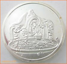 "1 oz .999 Silver ""THE WITCH  SNOW WHITE 50 TH ANNIVERSARY"" 5163 Art Round/Bar"