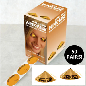 SUNBED GOGGLES WinkEase Disposable Sun Bed Tanning Eye Protection Cones 50 Pairs