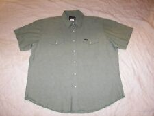 Men's Wrangler Western shirt with Pearl Snaps - 2X