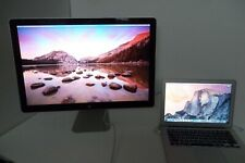 "Apple MacBook Air Intel Core i5 1.70GHz SSD 4GB Wi-Fi WebCAM w/24"" Monitor A1369"