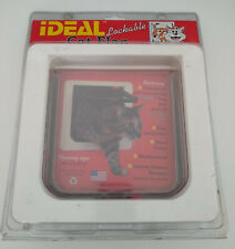 "New In Packaging - Ideal Lockable Cat Flap - 6.25"" x 6.25"" Opening"