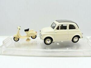 Model Car Fiat 500 vespa Vitesse Scale 1/43 diecast vehicles collection