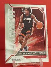 New listing 2021 Prizm Basketball Precious Achiuwa RC Emergent #14 - Miami Heat 🔥