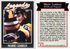 1991 Legends Mario Lemieux #46 - Pittsburgh Penguins NEAR MINT