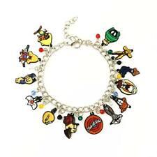 Looney Tunes Charm Bracelet, Bugs Bunny, Daffy Duck, Tweety, Classic Cartoons