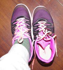 Nike Air Max Women Mesh Black Pink Orange Sneakers Size:8,5