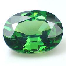 PAIO DI 6x4mm GEMMA emerald-green zircone cubico GEMME