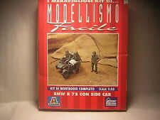 1/35 BMW R75 SideCar  ITALERI n 315  army  Military Miniatures
