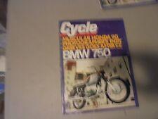 NOVEMBER 1969 CYCLE MAGAZINE,BMW 750,HONDA 90,GREEVES AFTER CZ,JAWA 175,INDY,AMA