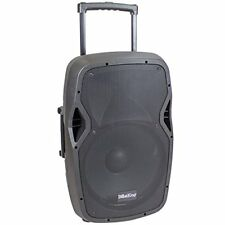 """15"""" Active 1000W Watts Portable Battery Powered PA Speaker w/ Bluetooth-BDS15BAT"""