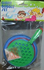 "Bubble Maker VINTAGE five and dime store NEW in package KIDS soap toy 5"" tray"