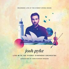 JOSH PYKE - Live With The Sydney Symphony Orchestra CD *NEW* 2016 Digipak