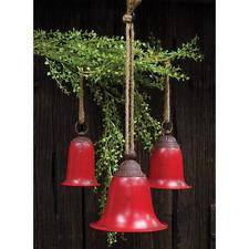 Decorative Red Metal Balls