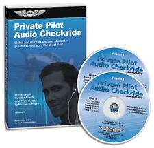 ASA Private Pilot Audio Checkride Audio CD - AUD-PVT