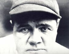 THE GREAT NY YANKEE BABE RUTH CLASSIC STARE AT THE PITCHER FROM DUGOUT CLASSIC