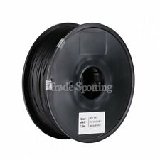 Nylon Filament Blended with Carbon Fiber for 3D Printer Black 1.75mm 1kg/2.2lb